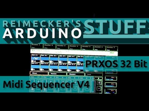 Prxos - Arduino Midi Sequencer V4 32Bit