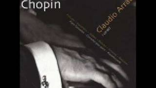 Claudio Arrau Chopin Prelude Op. 28 No.  20
