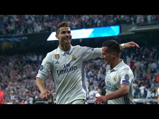 Cristiano Ronaldo vs Atletico Madrid  Home (UCL) 16-17 HD