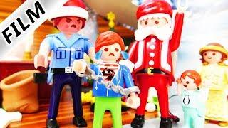 Playmobil Film Deutsch JULIAN + EMMA BRECHEN BEIM WEIHNACHTSMANN EIN! VERHAFTUNG? Familie Vogel
