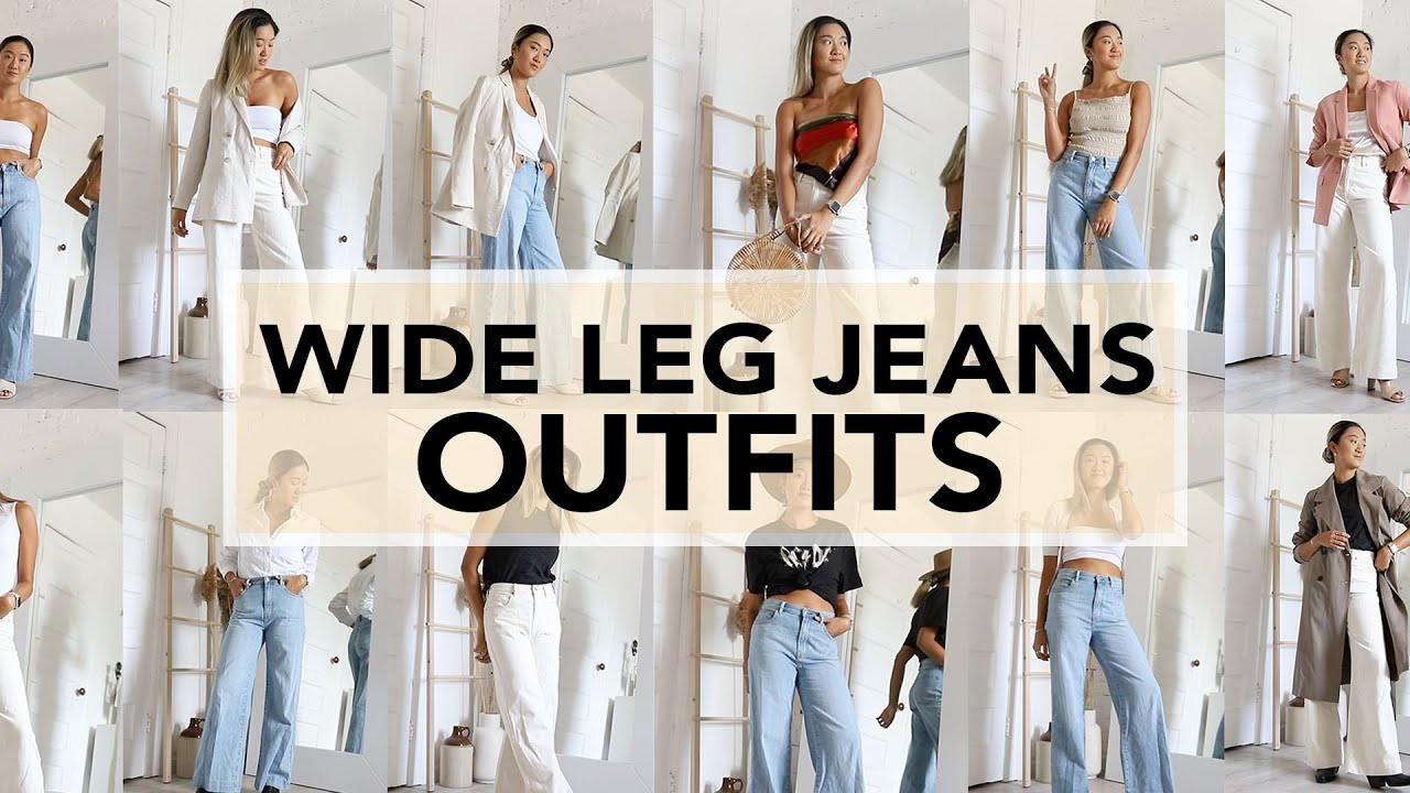 WIDE LEG JEANS: Outfit Ideas & How To Style