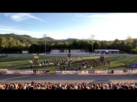 Robert L Patton High School Land of the Sky Marching Band Festival 2017