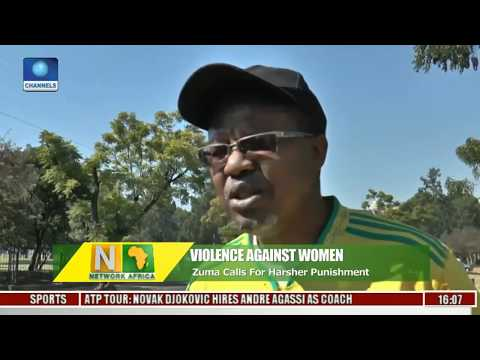 South African Men Rally In Pretoria To Protest Violence Against Women