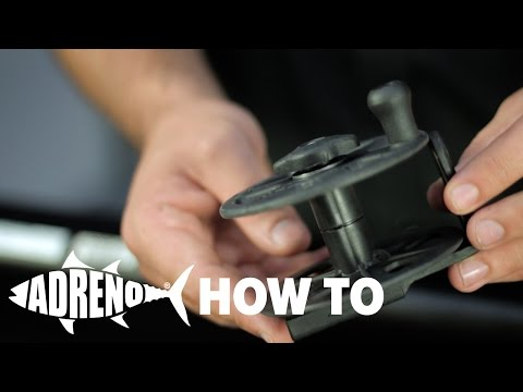How To Set Up a Speargun Reel | ADRENO