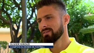 Sport : Interview avec Olivier Giroud