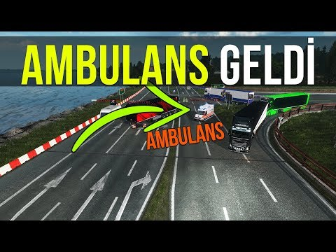 AMBULANS GELDİ: MECBURİ SOLA DÖNÜŞ! | ETS2MP
