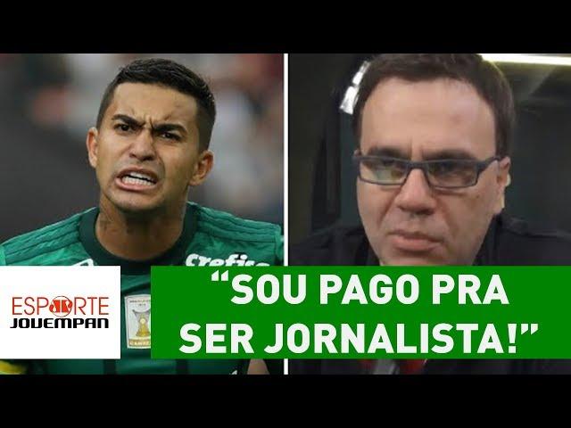 "Beting DESABAFA após clássico: ""sou pago para ser jornalista!"""