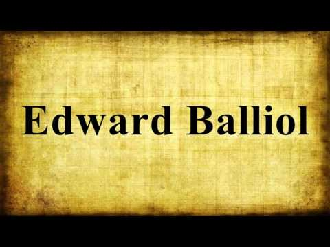 Edward Balliol