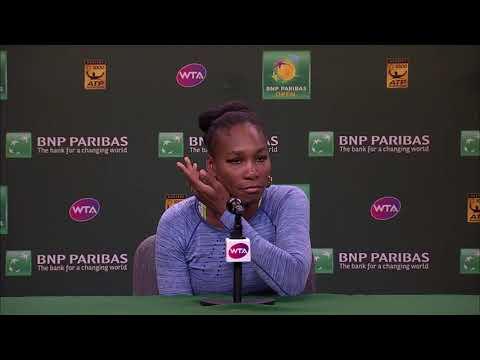 BNP Paribas Open 2018: Venus Williams 3R Press Conference