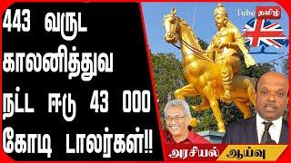 443 வருட காலனித்துவ நட்ட ஈடு 43 000 கோடி டாலர்கள் !!