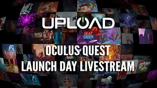 OCULUS QUEST Launch Day GIVEAWAY Livestream - Full Lineup Preview