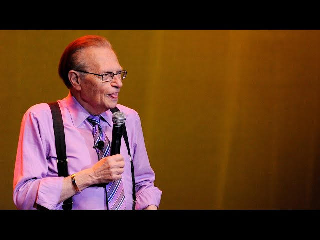 Larry King hospitalised after COVID diagnosis