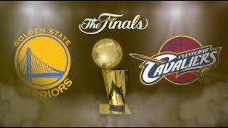 NBA Finals Game 2 - Cleveland Cavaliers Vs Golden State Warriors - NBA 2K17 Prediction