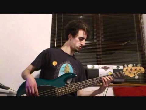 Protest The Hero: Bloodmeat Bass cover - Barry Enright