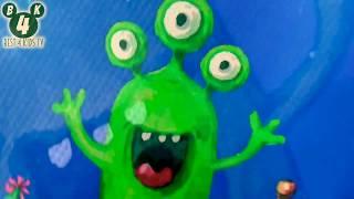 👽🛍 Funny Monsters Bag FX21 ❤️ \_(ツ)_/