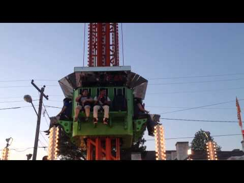 Rides at the West Tennessee Strawberry...