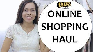Online Shopping Haul, Ebates