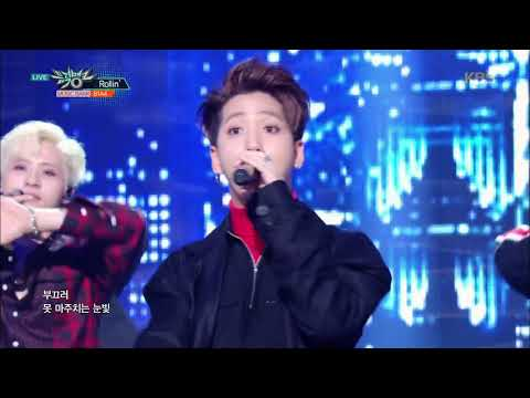 뮤직뱅크 Music Bank - Rollin' - B1A4.20170929