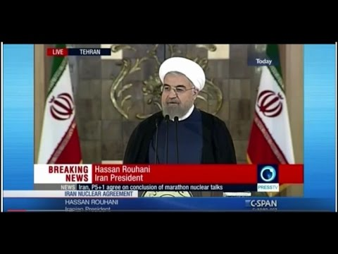 Nuclear Deal: Iranian President Hassan Rouhani Address