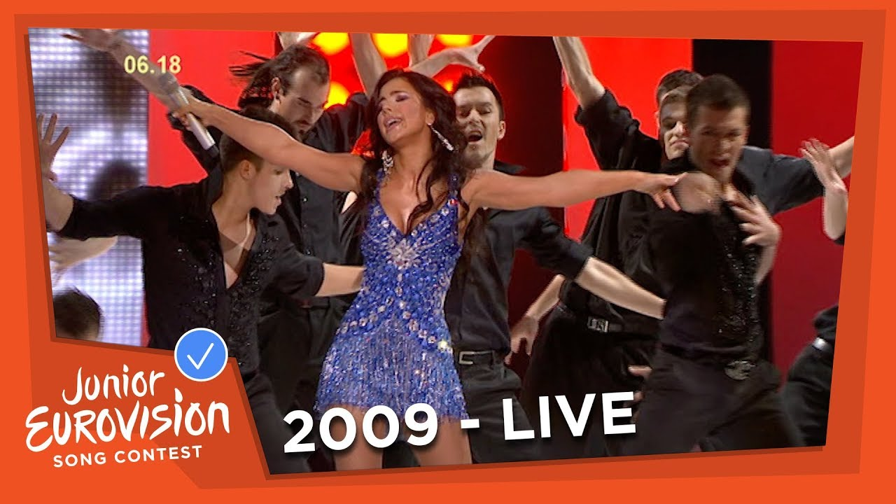 Ani Lorak I M Alive Shady Lady Interval Act 2009 Junior Eurovision Song Contest Youtube