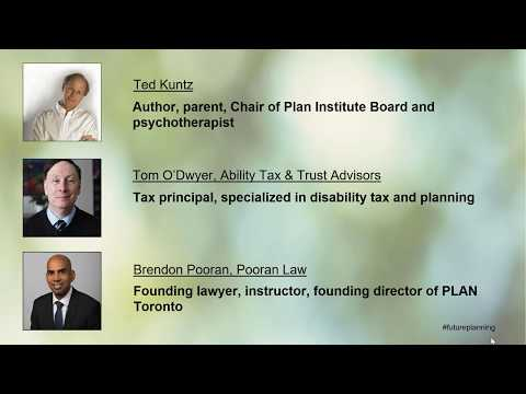 Webinar: Future planning tips for people with disabilities and those who support them