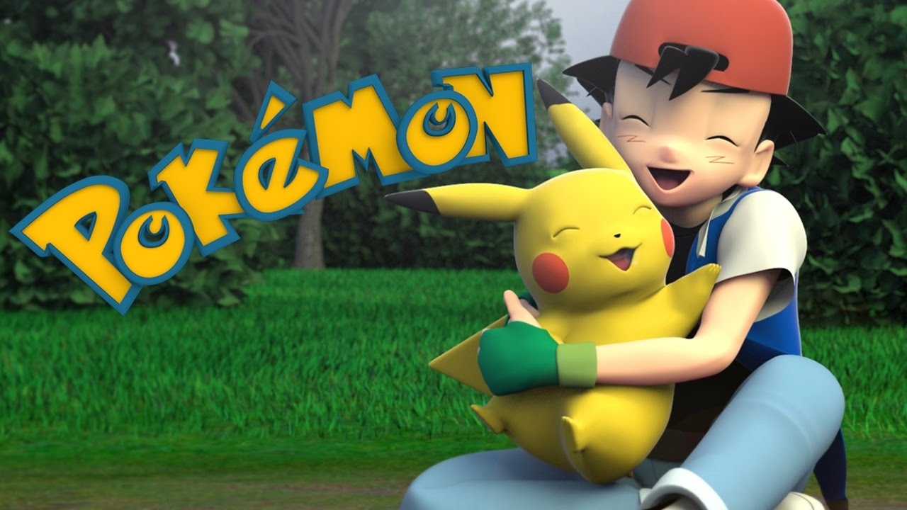Pokemon intro in 3d youtube - Pokemon 3d download ...