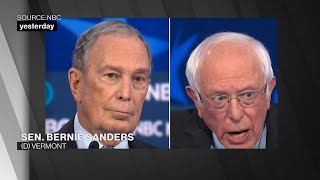 The Democratic Debate in About a Minute