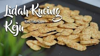 Download LIDAH KUCING KEJU LUMER - TINTIN RAYNER RECIPE | KUE KERING Mp3