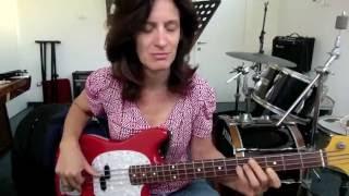 Erykah's groove - Bassline