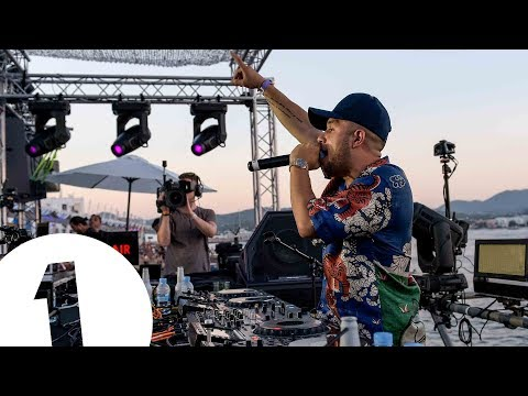 Jax Jones + RAYE  at Café Mambo for Radio 1 in Ibiza 2017