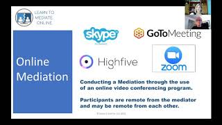 "NADN WEBINAR (3.19.20) - ""Online Mediation Basics"", with Susan Guthrie"