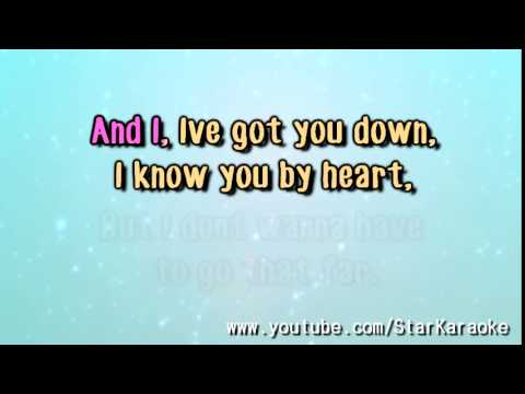 "Taylor Swift - ""Come In With The Rain"" [Karaoke/Instrumental]"