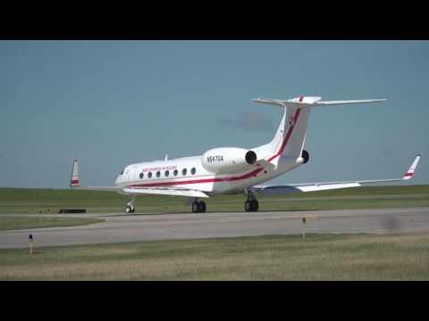 Książę Józef Poniatowski G550 Gulfstream