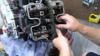v45 magna head tensioner cam install