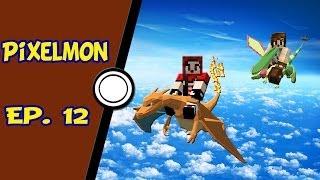 Minecraft Pixelmon - Voando no modo survival? - Ep. 12