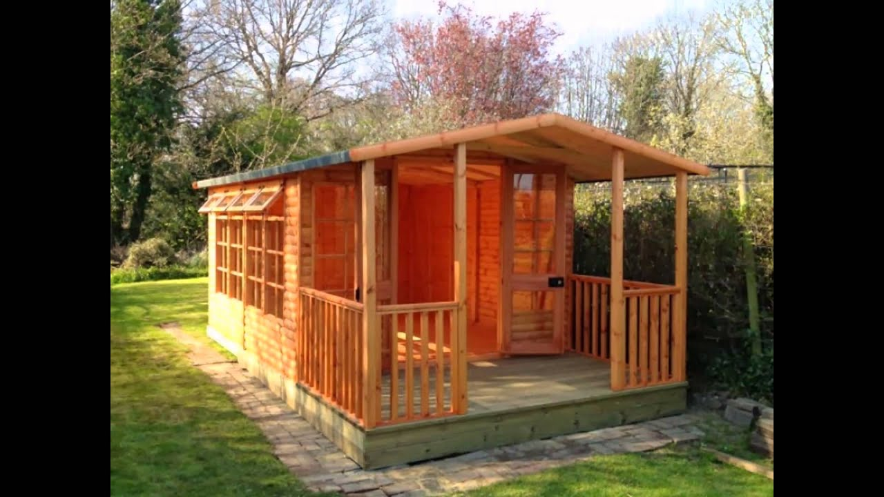 decorating garden sheds oldham