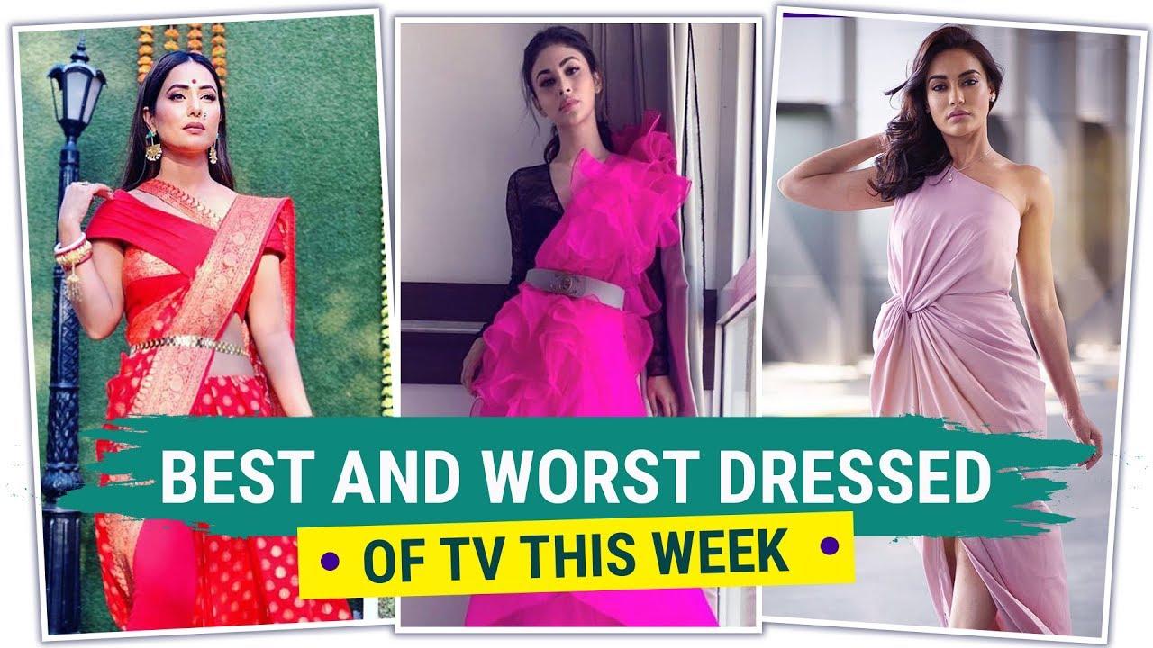 Hina Khan, Mouni Roy & Surbhi Chandna: Best & Worst Dressed of the Week | Fashion