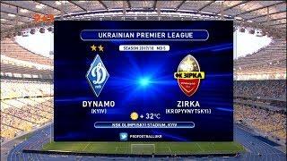 Dynamo Kyiv vs Zirka full match