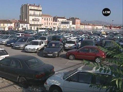 Encore un parking abandonné! (Marseille)