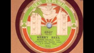Michael Coleman Kerry Reel New Republic 2327 Irish Fiddle 78 rpm