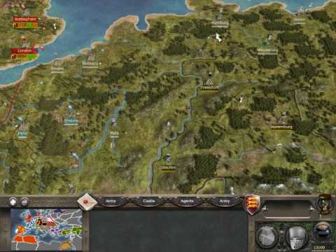 Medieval Total War Reveal Map Cheat YouTube - Rome total war map city locations