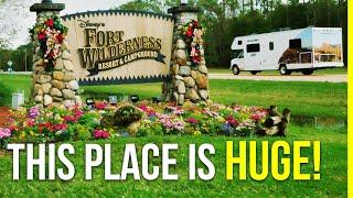 Disney Fort Wilderness Campground & Resort Tour 2020 | Full Time RV | Grateful Glamper!