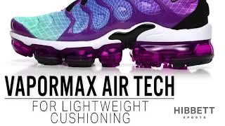 womens nike wmns air vapormax plus hyper violet
