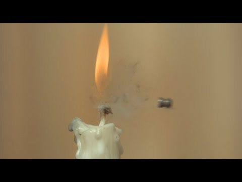 Download Youtube: Air Pistol Vs Candle Challenge - The Slow Mo Guys