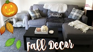 DECORATING FOR FALL!