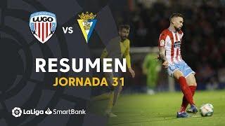 Resumen de CD Lugo vs Cádiz CF (1-1)