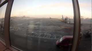 Moscow Sheremetyevo International Airport 17 12 2012
