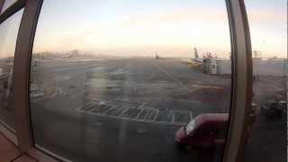Moscow Sheremetyevo International Airport 17 12 2012