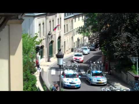 Tour de Luxembourg seen from our apartment June 5, 2011