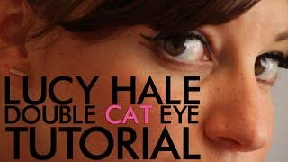 Lucy Hale Double Cat Eye Tutorial | Jamie Greenberg Makeup Thumbnail